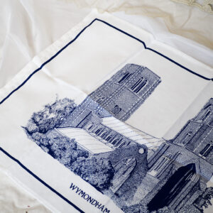 Abbey tea towel