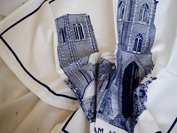 Abbey tea towel