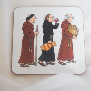 Alison Gardiner Monks Coaster
