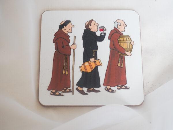 Alison Gardiner Monks Coaster